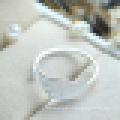 Frauen süße 925 Sterling Silber Ahornblätter Ring kleine frische Kunst Wind