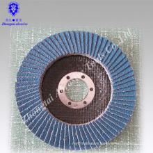 "PACK 10 PREMIUM ZIRCONIA FLAP DISC SANDING GRINDING 4-1/2"" X 7/8"" 80 GRIT"