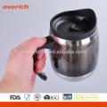 Logo en gros Customized Double Wall Acier inoxydable Travel Mug
