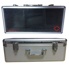 Aluminium Firsr Aid Case with Acrylic Top Lid