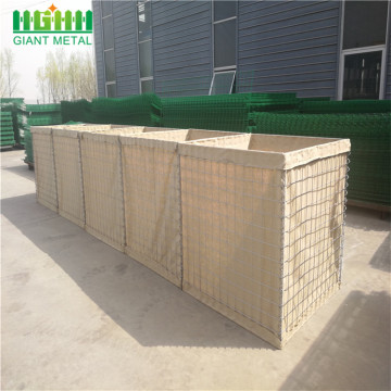 Hesco+Welded+Gabion+Mesh+Defence+Wall+for+Sale