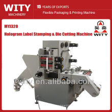 Etiqueta máquina de sellado en caliente (máquina de holograma etiqueta)