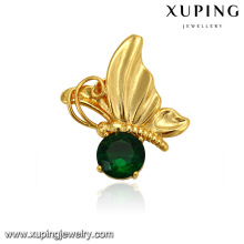 32961 xuping new product 24k gold plated butterfly shape unique fashion pendant