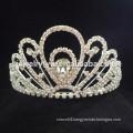 wedding hair accessories full crystal flower headband crown