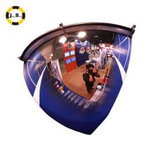 Espejo de cúpula del cuarto de 36 pulgadas 1 / 4dome ángulo de seguridad excelente del tráfico de la visibilidad de 90 grados