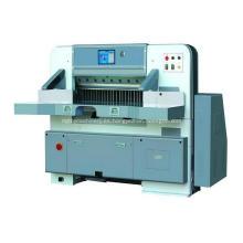 Máquina de guillotina de papel de pantalla táctil