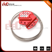 Elecpopular China Top Ten Selling Products Security Cable Lockout Adjustable Safety Lock 4mm