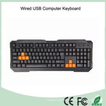 China Fabrik Buttom Preis Cool Design Normal Kabelgebundene Tastatur (KB-1688)