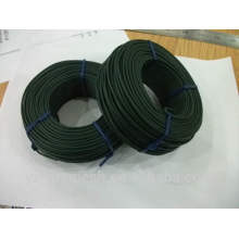 Fio revestido galvanizado e revestido de PVC / PVC