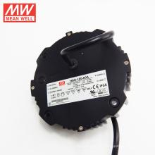 Con acciones ahora Original MEANWELL 60W a 240W forma redonda led conductor 60v ac / dc fuente de alimentación HBG-160-60A
