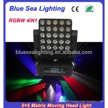 2015 new 25x12w 5x5 led matrix blinder moving head beam diso light