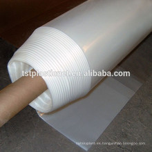 Lámina / película de plástico PE de 6 mil para cubierta superior de invernadero