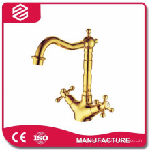 high quality bathroom basin faucet two handles classic basin faucet