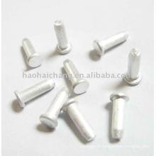 Parafuso principal liso de alumínio especial feito sob encomenda pequeno