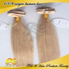 100% brasilianische Menschen Remy 30 Zoll Haarverlängerungen Clip in