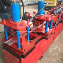 rolo de porta de aço dá forma à máquina