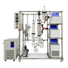 Test model molecular distillation system machine  for CBD and Diffusion pump for free
