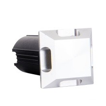 Square side emitting lighting led ground light