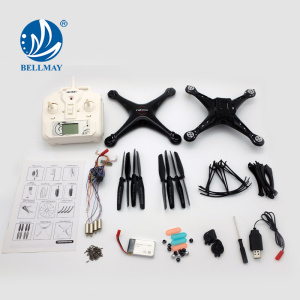 NEW Product 2.4GHz 6 Axis Gyro DIY Technology Educational RC Quadcopter with Barameter Set High Function For Sales