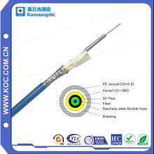 Câble blindé simple fibre optique