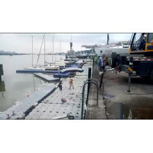 High quality good price floating pontoon dock for sales