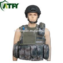 Chaleco antibalas táctico de protección de seguridad del ejército Chaleco antibalas