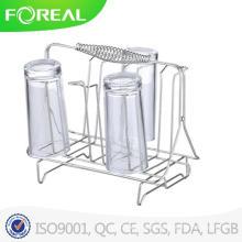Storage Holder & Racks Glass Cup Holder