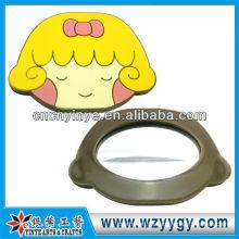 2D Phantasie Rubber Spiegel mit Cartoon-Gesicht