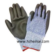 DMF Free PU Coated Cut Resistant Arbeitssicherheit Handschuhe