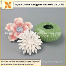 Ceramic Perfume Bottle Burner with Flower Cap