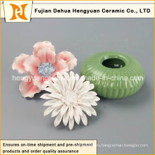 Горелка для керамических духов с цветочной крышкой