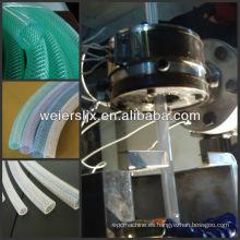 Tubería de fibra de PVC que hace la máquina del tubo de la maquinaria / PVC