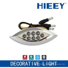 Lâmpada LED lado marcação lâmpada luz placa luz decorativa com 3 fios e âmbar LED