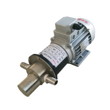 High quality small flow micropump stainless Steel Magnetic Gear Pump