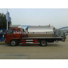 Dongfeng mini 3ton maintenance road sprayer vehicle,4x2 asphalt trucks sale