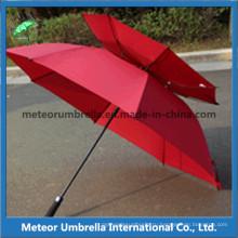 Гольф-зонтик с двойным слоем
