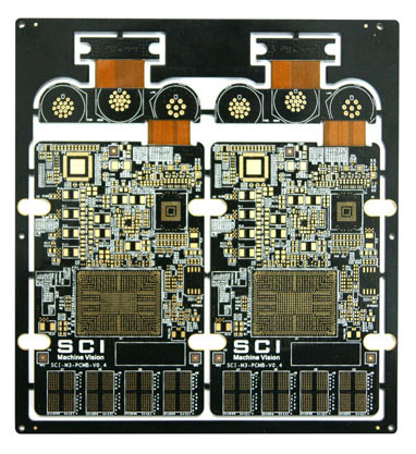 12-Layers-rigid-flex-PCB