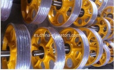 Elevator Cast Iron Pulley Elevator Suspension Pulley