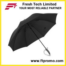 Parapluie portatif à l'épave à vent de 23 pouces