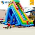 Diapositiva de agua inflable gigante durable de la fábrica caliente de la venta para el adulto