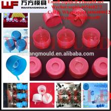 Molde de tapa de botella de plástico de 5 galones / diseño de moldura de tapa de botella de plástico