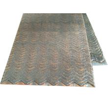 Плакированная плита из мягкой стали