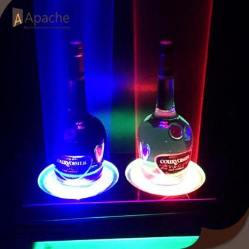 Porte-bouteille LED Wine Display pour bar