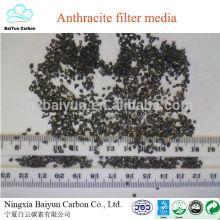 precio de antracita competitivo FC 75-85% filtro de tratamiento de agua antracita carbón para filtros