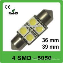 36mm39mm festoon 12V Auto Glühbirnen führte für Auto