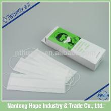 100pcs que embala la mascarilla de papel médica disponible que embala