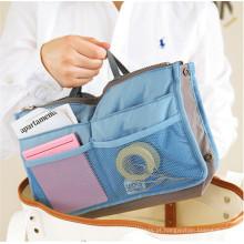 Moda multifuncional portátil organizador cosmético bolsa de viagem de nylon (yb2204)