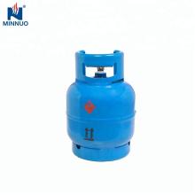 Cilindro de gás do lpg 3kg para áfrica do sul