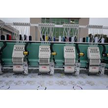 Высокоскоростная 20 головок Flat + Sequins + Easy Cording Смешанная компьютеризированная вышивальная машина