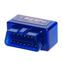 Mini Elm327 Bluetooth Interface OBD2 v 2.1 carro ferramenta de diagnóstico